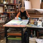 Fun day with CBCA artist Claudia Mengel. Hard at […]