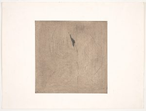 Nude Series: Nude XIV, Geoffrey Moss, mixed media, work on paper, graphite pence, dry pigments, waxes on paper
