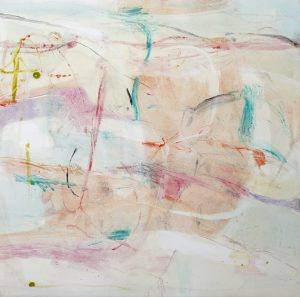 Opening Up IV, Claudia Mengel, work on paper, monotype