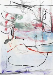 Reflections IV, Claudia Mengel, Work on paper, Monotype